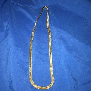 Unisex Gold chain, 18 inch chain